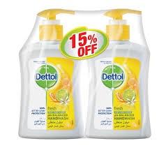 Dettol Fresh Handwash 2 x 200 ml @ 15% Off