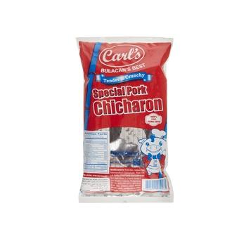 Carls Best Chicharon Plate Pork 60g