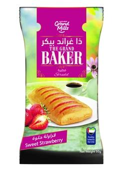 Grand Baker Strudels Strawberries 55