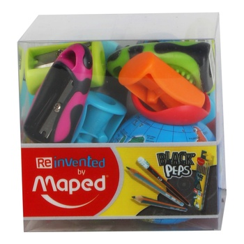 Maped Sharpners 12 Pc Assorted