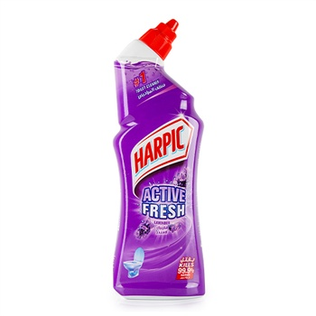Harpic Toilet Cleaner Liquid Active Fresh Lavender 750ml