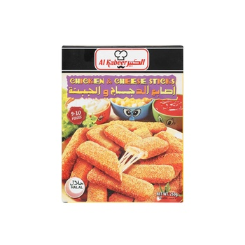 Al Kabeer Chicken Nuggets Cheese Sticks 250g