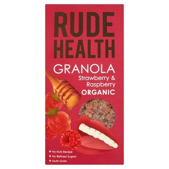 Rude Health Strawberry & Raspberrry Granola 500g