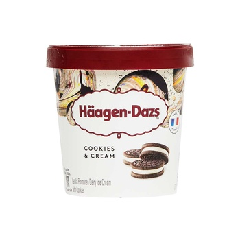 Haagan Dazs Cookies & Creem  460 ml