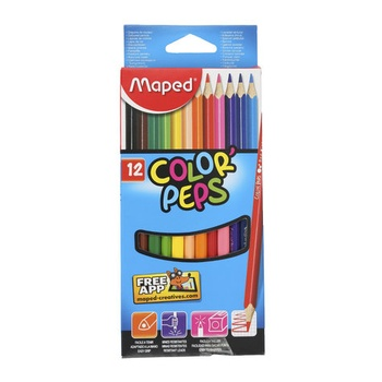Maped Coloring Pencils Cardboard -12pcs pack
