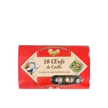 Les Authentiques Quail Eggs 1 X 18pcs