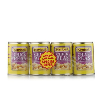 Kimball Chick Peas 4 x 400gm @ 25% Off