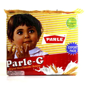 Parle G Biscuits Glucose 188g