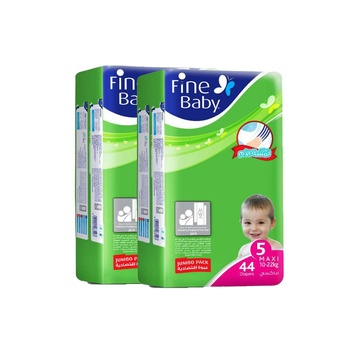 Fine Baby Diaper Fast Sorption Large Jumbo Pack Twin Pack 96'S