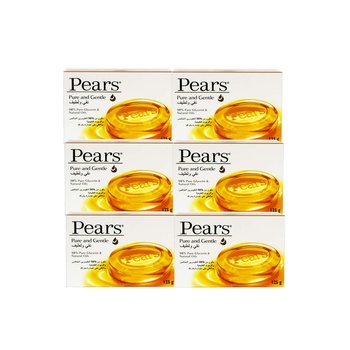 Pears Soap Pure & Gentle 6X125g