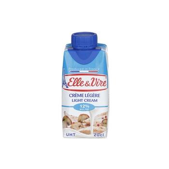 Elle & Vire Light Cream 205ml