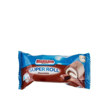 Americana Super Roll Chocolate Vanilla 85g