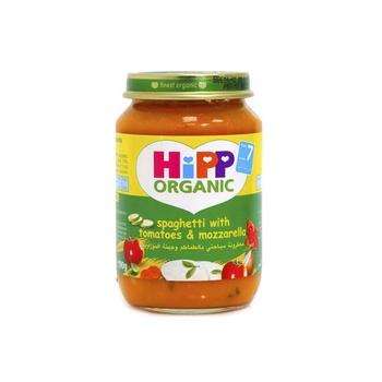 Hipp Organic Baby Food Spaghetti & Mozzarella 125g