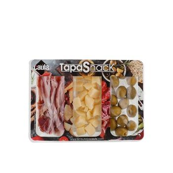 Tapasnacks Cheese/Olives /Serrano 120g