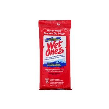 Wet Ones Wipes Antibacterial 15 Sheets