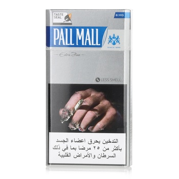 Pall Mall Cigarettes Fine Cut Blue 20s