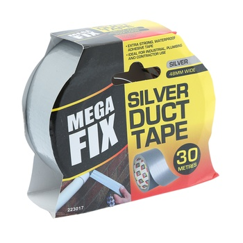 Maxifix Silver Duct Tape- 30 m