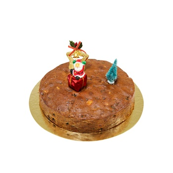 Xmas Plum Cake Plain 1kg