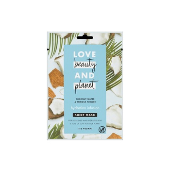 Love Beauty & Planet Coconut Water & Mimosa Flower Sheet Mask 21 ml