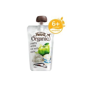 Heinz Organic Vanilla Rice Pouch 120g