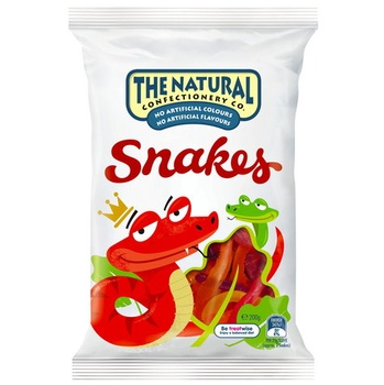 The Natural Confectionery Jelly Snakes 260g