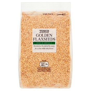 Tesco Whole Foods Golden Linseed 250g