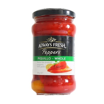 Always Fresh Peppers Whole 285g