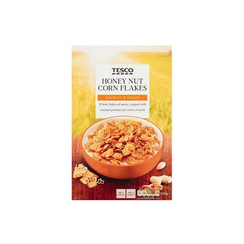Tesco Honey & Nut Cornflakes 500g