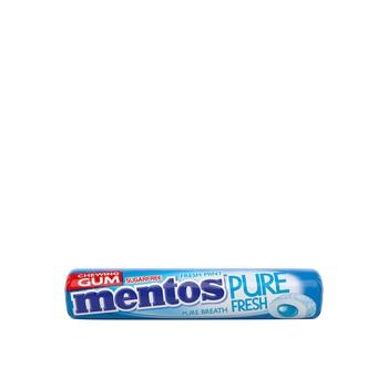 Mentos Pure Fresh Gum Rolls Freshmint  15.75g