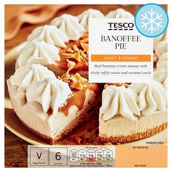 Tesco Banoffee Pie 500g