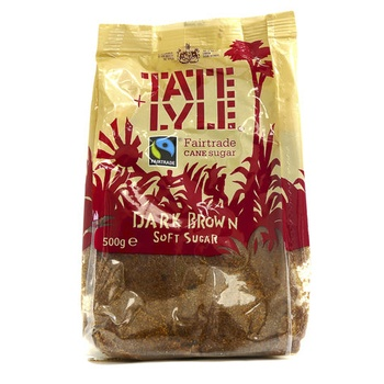 Tate & Lyle Dark Brown Soft Sugar 500g