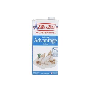 Elle & Vire Half Cream Avantage Cooking 1ltr
