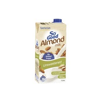 Sanitarium  So Good Almond & Coconut Milk - Unsweetened1Ltr