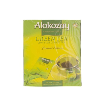 Alokozay Green Tea Bags 100's