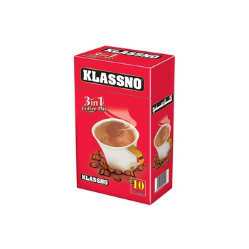 Klassno 3In1 Coffee Mix 20g 10's