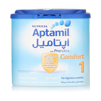 Aptamil Comfort 1 Infant Formula Milk 400g