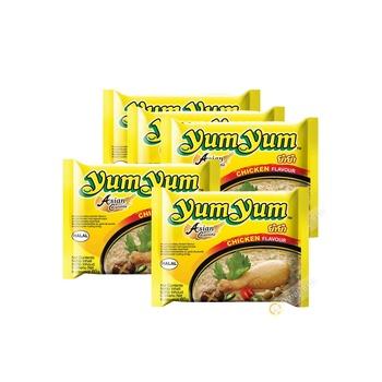 Yum Yum Instnt Ndls Chick Flvr 5X60g