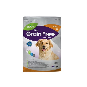 Biopet bio grain free adult dog food 3.5kg