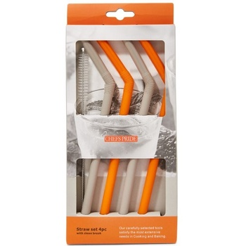 Chefs Pride Straw Set 4 pcs