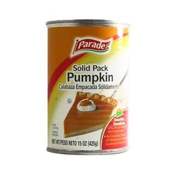 Parade Pumpkin Pie 425g
