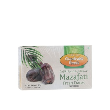 Goodness Foods Mazafati Dates 600g