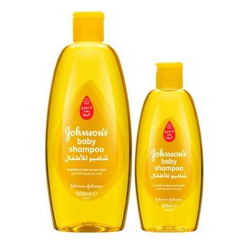 Johnson's Baby Shampoo 500 ml + 200 ml Free