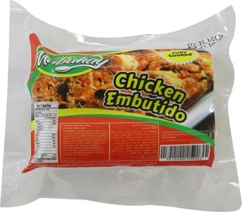 Mabuhay Chicken Embutido 250gms (Frozen)