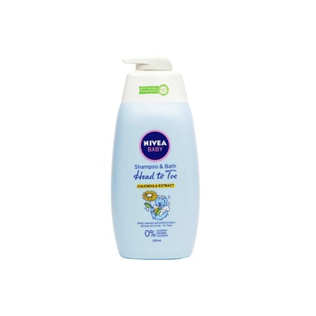 Nivea Baby Shampoo & Bath Head To Toe 500ml