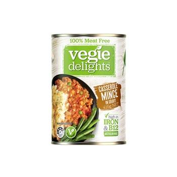 Vegie Delights Veggie Delights Casserole Mince In Gravy 415g