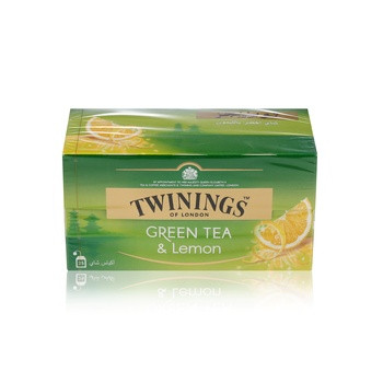 Twinings Green Tea Lemon 25s