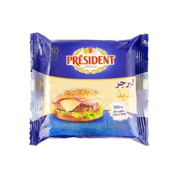 President Cheese 10 Slices Burger 200g