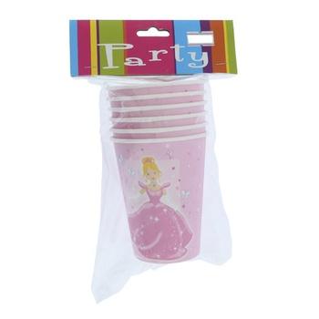 Princess Party Cup 9 Oz- 6pcs pack