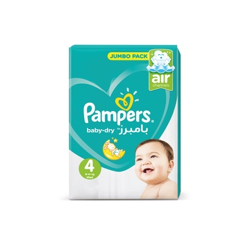 Pampers Active Baby 4 Large (7-18Kg) 60 pieces