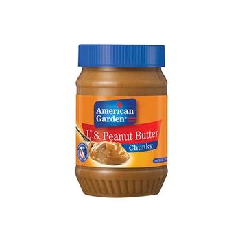 American Garden Peanut Butter Chunky 325g